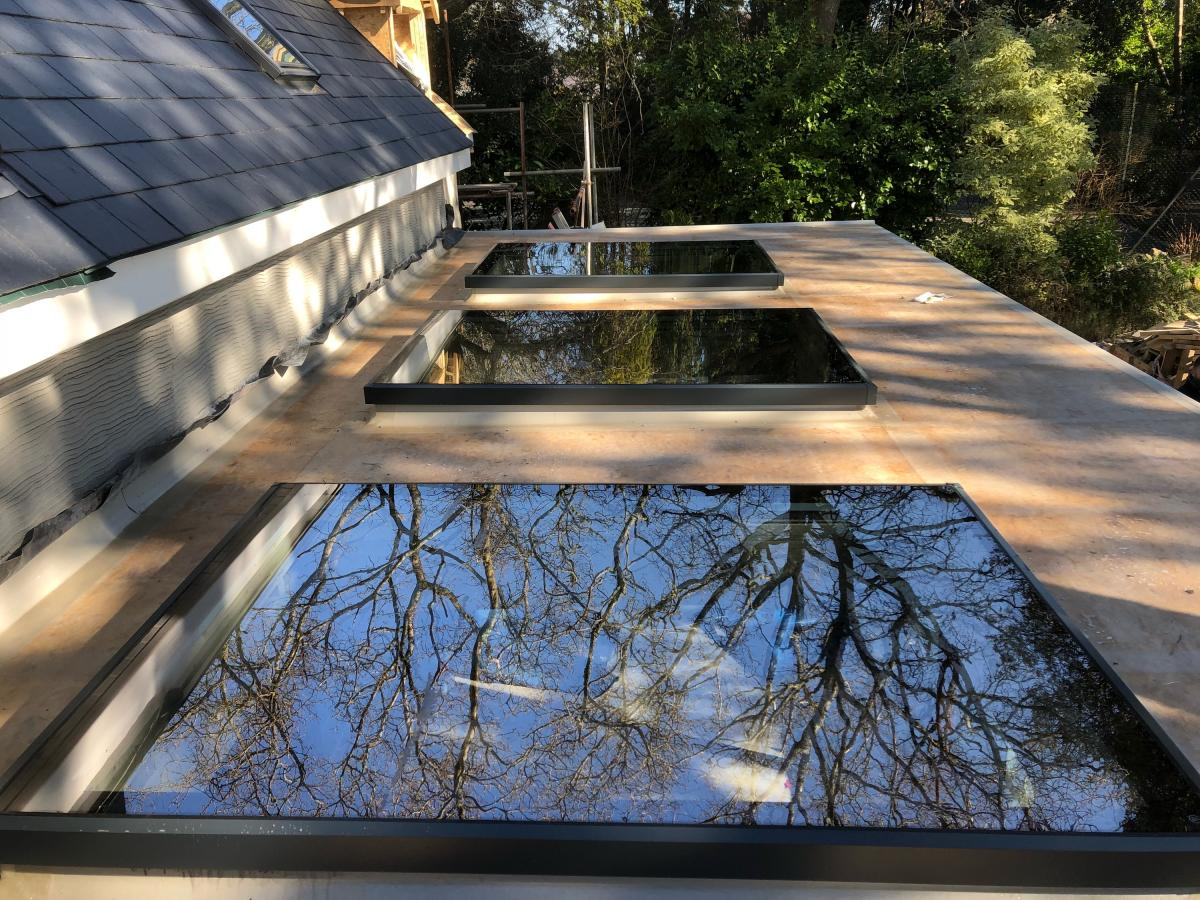 Htr Flat Rooflights With Blinds Hitech Blinds